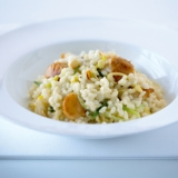 Risotto with Scallops and Pancetta