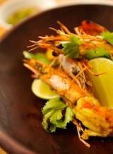 Thai Style Grilled TigerPrawns